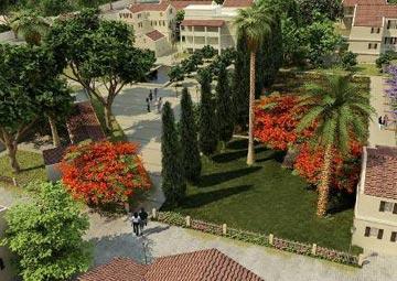 פרויקט נוסף (שאינו מוזכר בכתבה): פארק שרונה, תל אביב (הדמיה: totem3d)