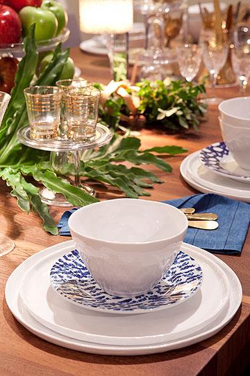 הרולטה תתאים? שולחן חג בעיצוב דפנה קסטיאל (צילום: שירן כרמל)