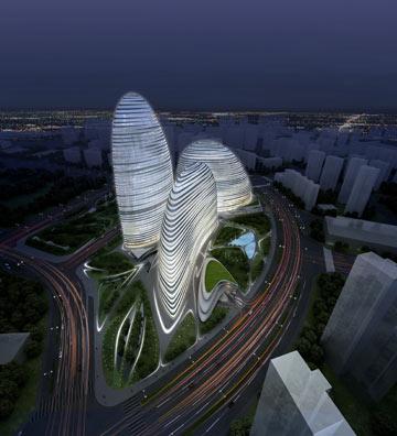 הדמיה: Zaha Hadid Architects