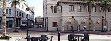כך תיראה כיכר פריז בעיר התחתית, חיפה (הדמיה: חברת יפה נוף)