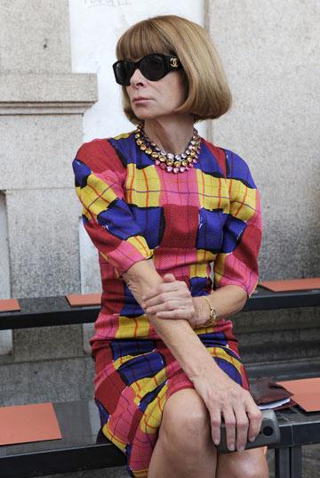 אנה ווינטור. ידועה כעורכת ווג אמריקה, אבל היא בכלל בריטית (צילום: gettyimages)