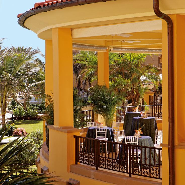 גווני החמרה של פלורידה כמוטיב עיצוב מרכזי (צילום: Ritz Carlton Hotel)