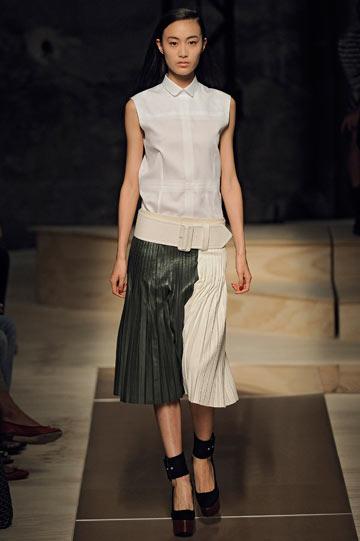 תצוגת האופנה של סלין. קולקציה מרגשת ועשויה לעילא (צילום: gettyimages)
