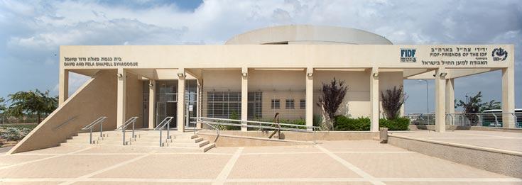 בית הכנסת של מחנה רעים (צילום: טל ניסים)