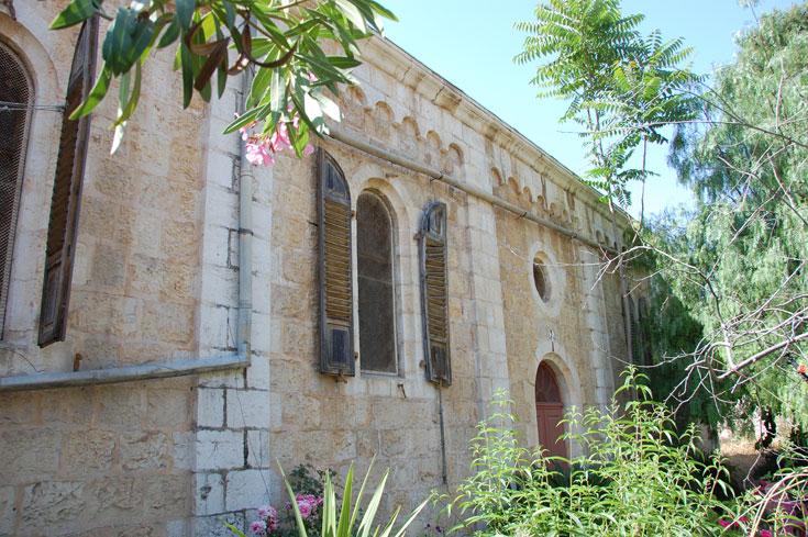 הבית הטמפלרי במושבה הגרמנית בירושלים . המינהל מכר אותו לקונים פרטיים, עם היתר לעשות בו מה שרוצים (צילום: Sir Kiss)