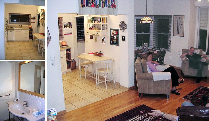 וכך נראתה הדירה ''לפני': החלוקה המיושנת לא הכניסה אור הביתה, ובוודאי לא הזכירה מקום של צעירים