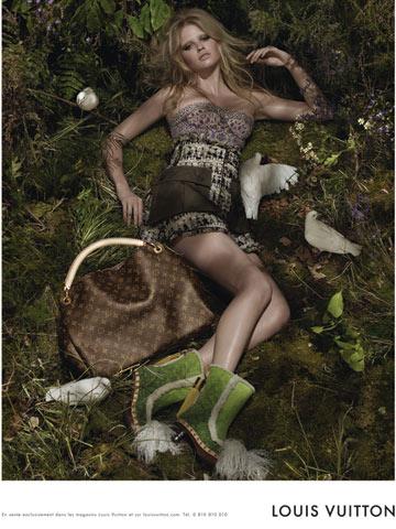 לארה סטון, לואי ויטון וצלם האופנה סטיבן מייזל משתפים פעולה בהחזרת השדיים לאופנה