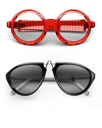 PQ בעיצוב רון ארד. ''בסופו של דבר זה משקפיים. הם לא נועדו לתקן את העולם''