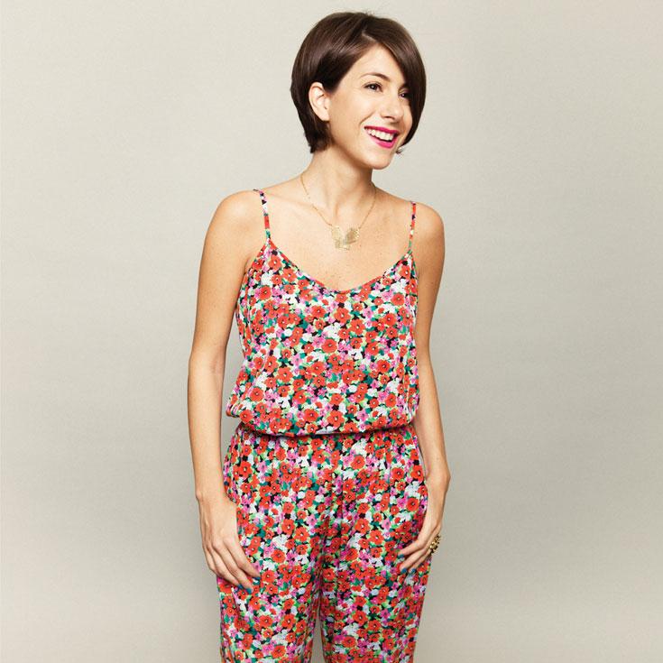אוהבת להתלבש צבעוני. דפנה לוסטיג (צילום: גיא כושי ויריב פיין)