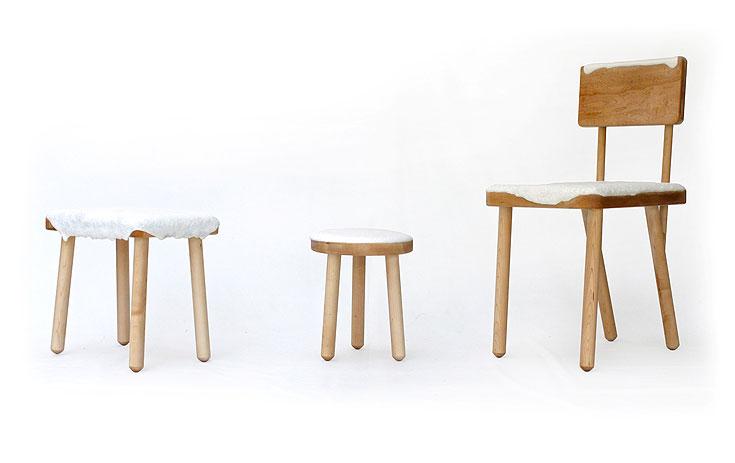עוד מהעבודות שמוצגות ב''סיאם'': ''כיסא לבן'', בעיצוב שיר אתר ואלעד פומרנץ (באדיבות סיאם)