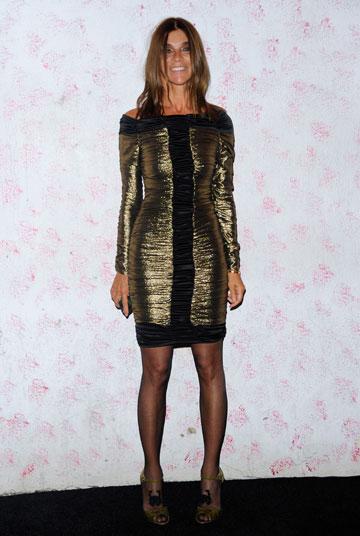 קארין רויטפלד בשבוע האופנה בניו יורק. סטייל מנצח ואישיות מלבבת (צילום: gettyimages)