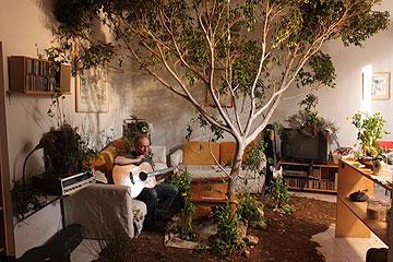 דירה ''אמיתית'' בקליפ של סנדרסון (צילום: רוני עזגד)
