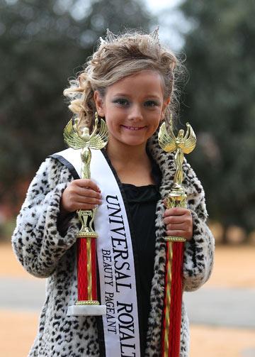 גם באוסטרליה. ילדה זוכת פרסים (צילום: gettyimages)