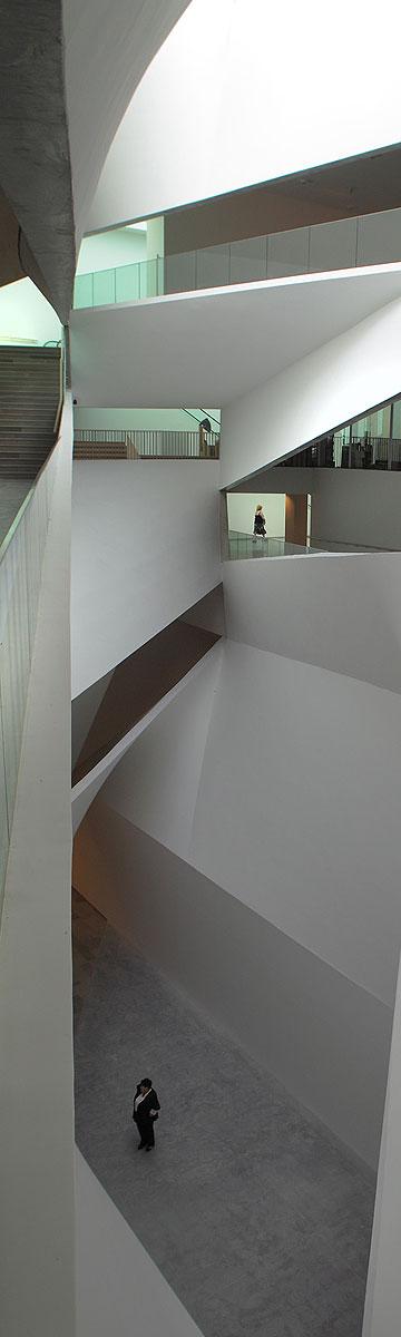האגף החדש במוזיאון תל אביב (צילום: אמית הרמן)