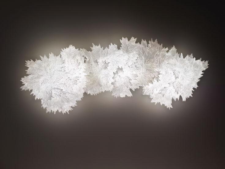 ''סומה'' - על הקיר או על הרצפה, כמיצב אור או מנורה (צילום: In the cortesy of: Aqua Creations)