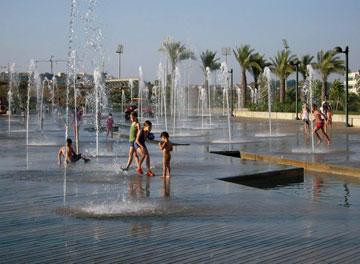 פארק כפר סבא (צילום: דן צור וליאור וולף אדריכלי נוף)