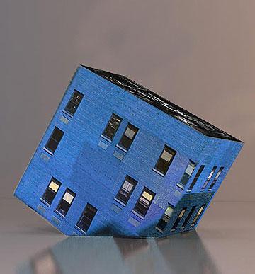 Trapezoid. שידה בצורת בית הפוך (באדיבות גלריה ברוורמן)