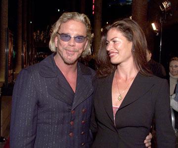 אוטיס והבעל לשעבר מיקי רורק (צילום: gettyimages)