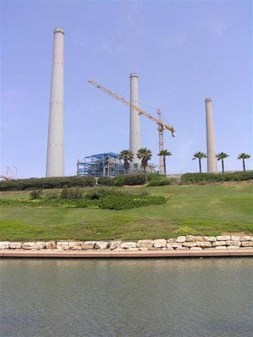 ללמוד איך פועלת תחנת הכוח הגדולה במדינה. אורות רבין (צילום: יעל צור)