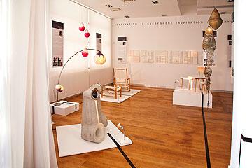 חלל התערוכה ב''סיאם'' (צילום: דן לב)
