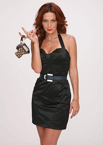 דנה ספקטור. תדגמן לרזיאלה בתצוגת האופנה של איגי (צילום: גל חרמוני)