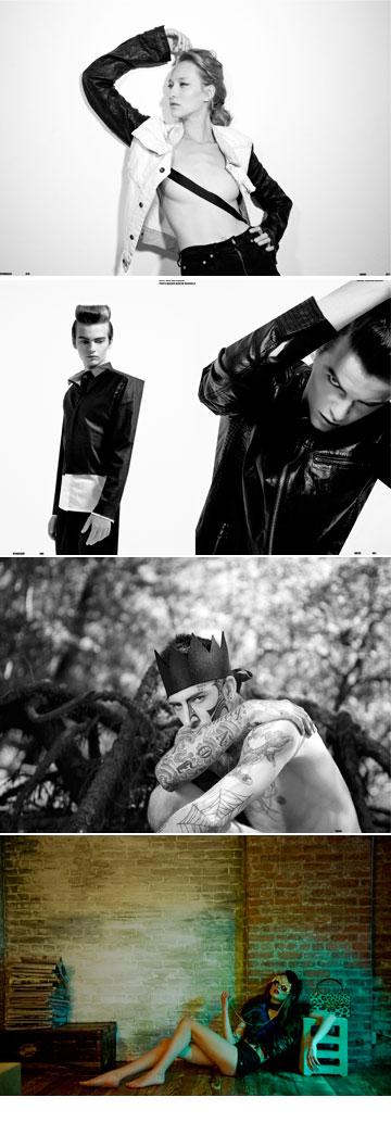 הפקות אופנה מתוך הגיליון הראשון של מגזין QWHO   (צילום: Meagan Cignoli, Madison, Lars Waber, רון קדמי)
