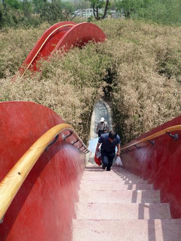 גן 10,000 הגשרים בשיאן, סין. פרויקט של west8 (צילום: West 8 urban design & landscape architecture)