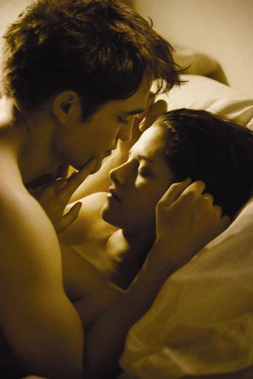 """סצנת סקס משעשעת, רומנטית ומגוחכת. ב""""דמדומים"""""""