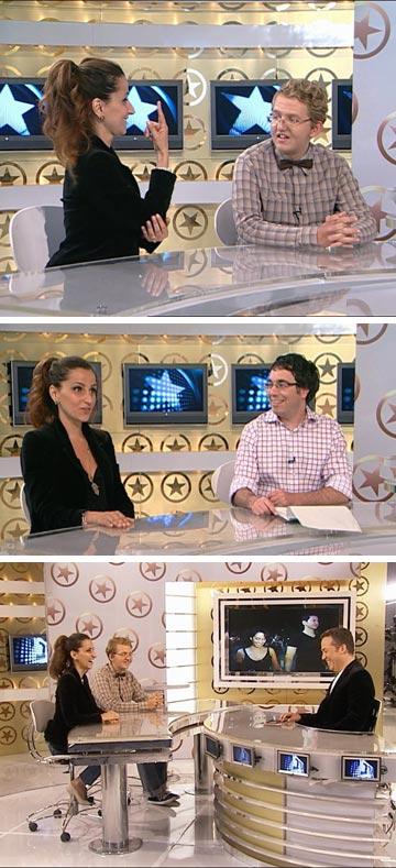 דורין אטיאס ב''ערב טוב עם גיא פינס''. ''השורה התחתונה היא שצריך להביא רייטינג ששווה כסף''