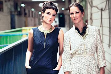 אופנה והעיר הגדולה. מעצבות אלף אלף (צילום: מיכאל טופיול)