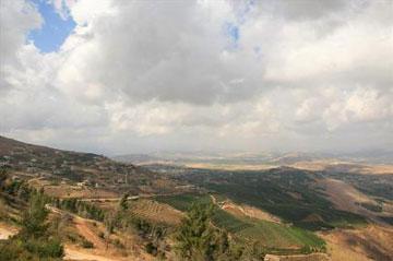 נוף לבנון ממשגב עם (צילום: חנן ישכר)
