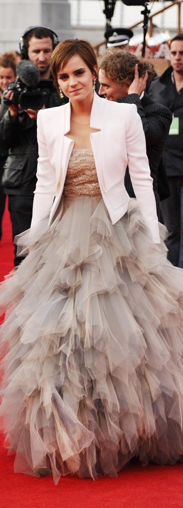 נסיכה מודרנית. אמה ווטסון (צילום: gettyimages)