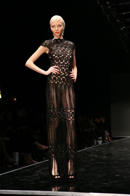 בתצוגת האופנה של שי שלום (צילום: ענבל מרמרי)