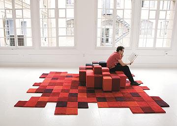 שטיח בעיצוב רון ארד