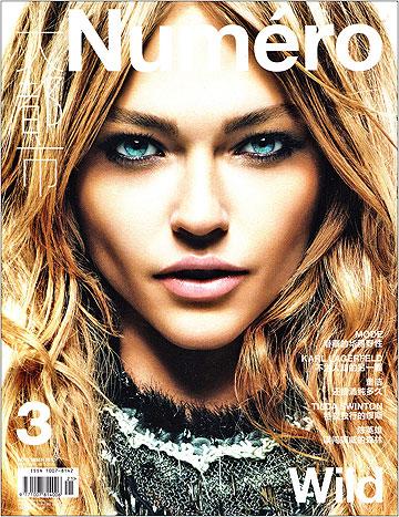 על שער גיליון נובמבר 2010 של מגזין נומרו