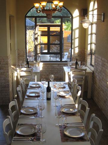 תפריט גלילי עם נגיעות צרפתיות ואיטלקיות. מסעדת סירין (צילום: אריאלה אפללו)