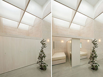 וכאן במבט בגובה העיניים (צילום: Takeshi Hosaka Architects)