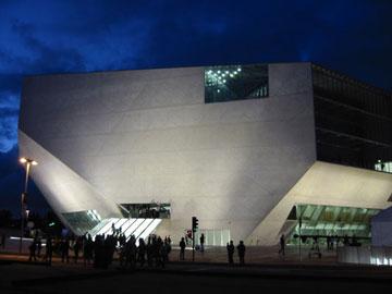 בית המוזיקה בפורטו. הצלחה מיידית (צילום: Joao Castro, cc)