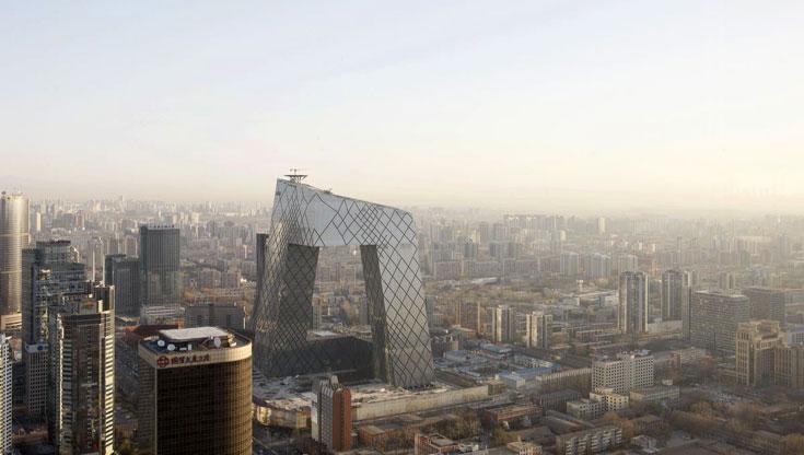 ועל רקע בייג'ין. תקציב של 600 מיליון דולר (צילום: Philippe Ruault, OMA)