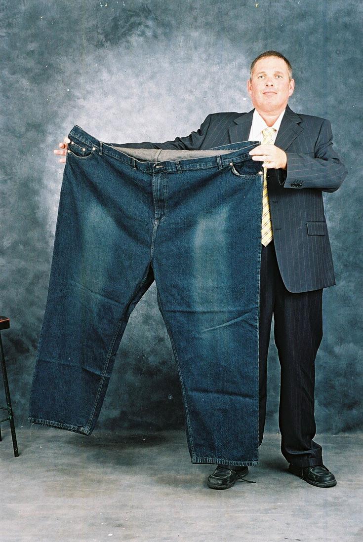ביג מן, מהחנויות הייעודיות הבודדות לגברים במידות גדולות במיוחד. חולצות עד מידה 16XL, מכנסיים עד מידה 90