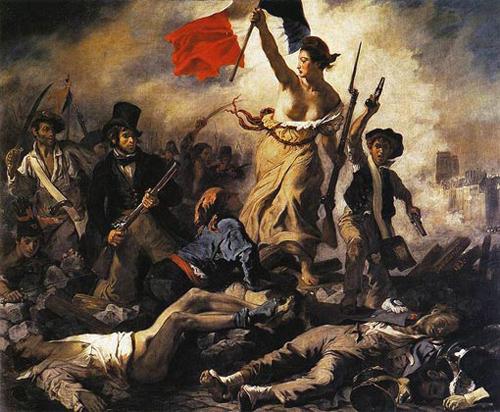 Eugène Delacroix / Liberty Leading the People / 1830