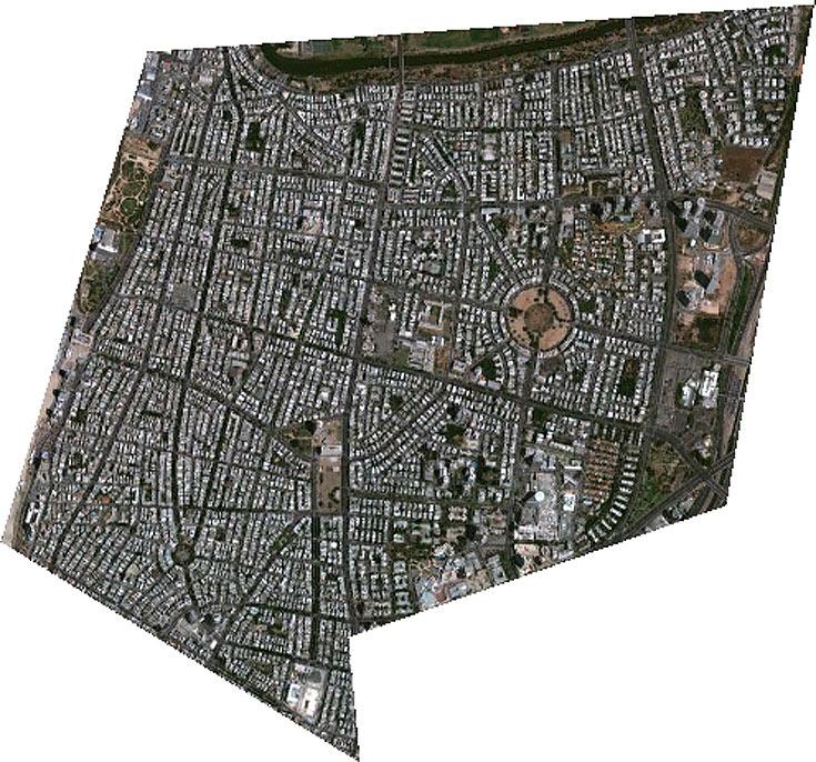 גבולות תוכנית הרובעים: הירקון בצפון, נתיבי איילון במזרח, בוגרשוב בדרום ורחוב הירקון במערב - למעשה, כמעט כל מרכז העיר והצפון הישן יעלו לגובה