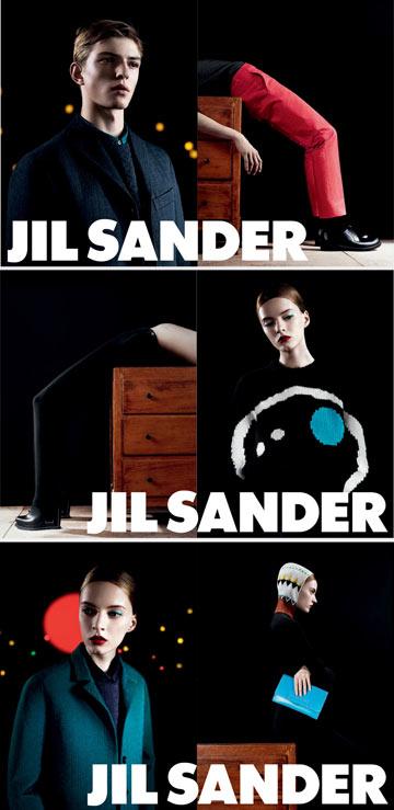 ז'יל סנדר. קמפיין מדויק ומעוצב