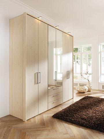 החנויות של הרשת האוסטרית זהות. הנה דוגמה מתוך תצוגת חדרי השינה (צילום: Kika Austria)