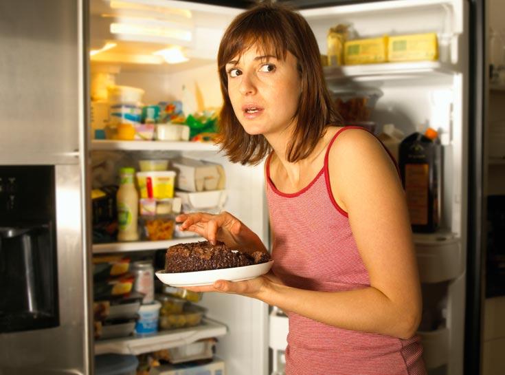 עוגת שוקולד בלילה - חצ'קון בבוקר? (צילום: thinkstock)