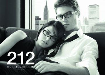דרור בקמפיין המשקפיים של קרולינה הררה