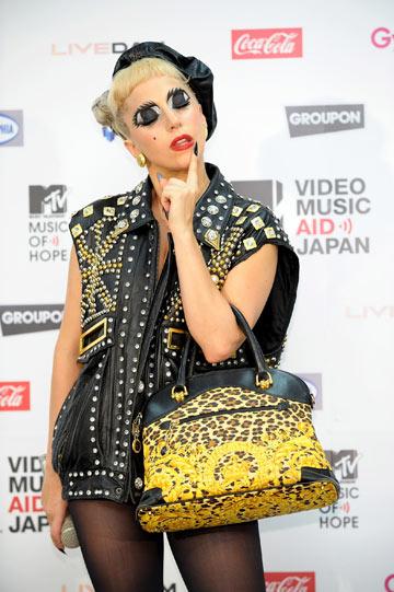 ליידי גאגא. במקום ה-11 המכובד (צילום: gettyimages)