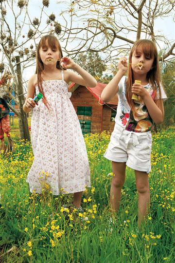 H&O. ''בצילומי ילדים בארץ מקפידים על מראה טבעי'' (צילום: יניב אדרי)