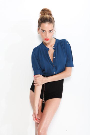 רותם סלע, המנחה החיננית של ''הסטייליסטים – קרב אופנה'' והפרזנטורית של חברת לוצ'י (צילום: שי יחזקאל)