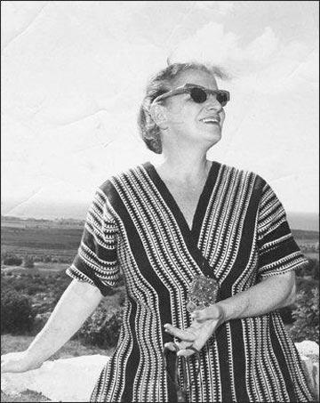 פיני לייטרסדורף. ''היא היתה דבר מה יותר מאופנאית. היתה לה תיאוריה על החיים כאן'' (צילום: מאוסף המשפחה )